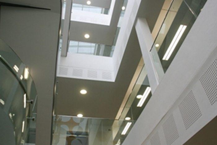 mineral fibre ceilings