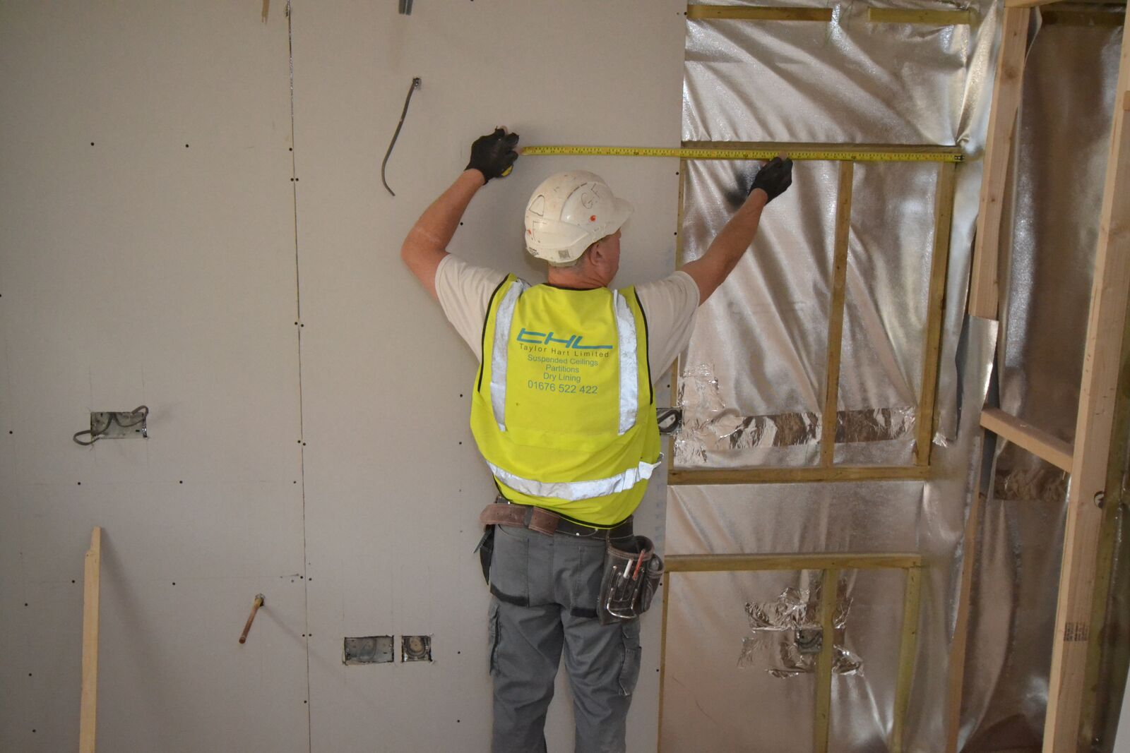 Drylining Contractors | Taylor Hart Limited | Drylining Experts